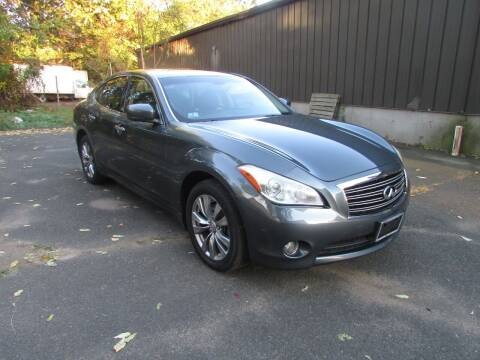 2012 Infiniti M37 for sale at Nutmeg Auto Wholesalers Inc in East Hartford CT