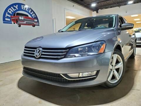 2015 Volkswagen Passat for sale at Italy Blue Auto Sales llc in Miami FL