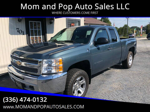 2013 Chevrolet Silverado 1500 for sale at Mom and Pop Auto Sales LLC in Thomasville NC
