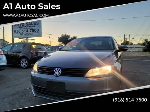 2012 Volkswagen Jetta for sale at A1 Auto Sales in Sacramento CA