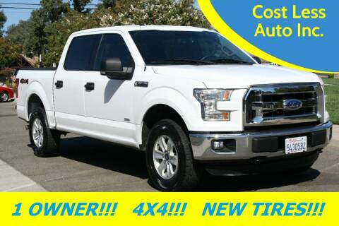 2016 Ford F-150 for sale at Cost Less Auto Inc. in Rocklin CA