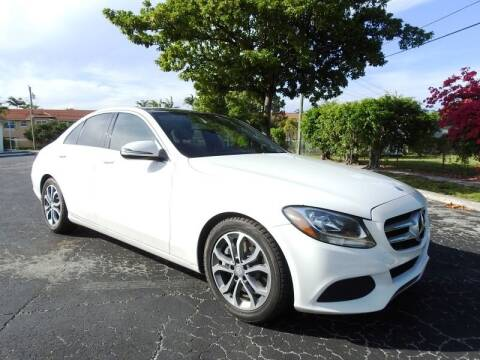 2017 Mercedes-Benz C-Class for sale at SUPER DEAL MOTORS 441 in Hollywood FL