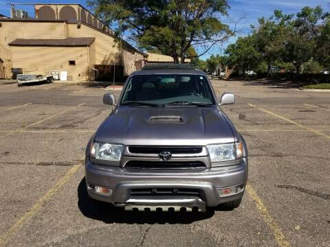 2002 Toyota 4Runner for sale at Red Rock's Autos in Denver CO