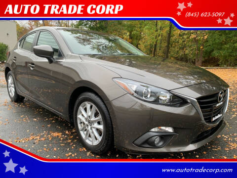 2015 Mazda MAZDA3 for sale at AUTO TRADE CORP in Nanuet NY
