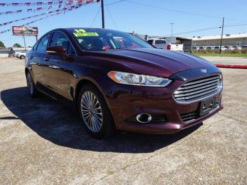 2013 Ford Fusion for sale at BLUE RIBBON MOTORS in Baton Rouge LA