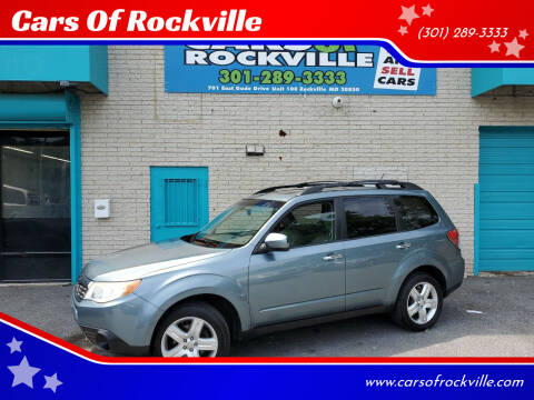 2010 Subaru Forester for sale at Cars Of Rockville in Rockville MD