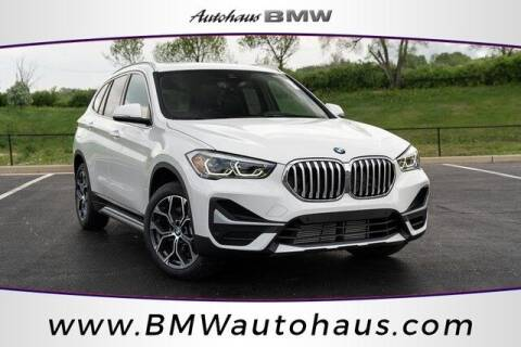 2021 BMW X1 for sale at Autohaus Group of St. Louis MO - 3015 South Hanley Road Lot in Saint Louis MO