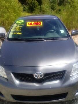 2009 Toyota Corolla for sale at Finish Line Auto LLC in Luling LA