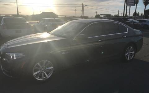 2015 BMW 5 Series for sale at First Choice Auto Sales in Bakersfield CA