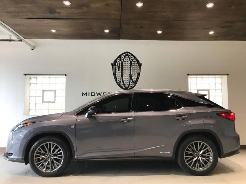 2018 Lexus RX 450h for sale at Midwest Car Connect in Villa Park IL
