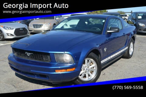 2009 Ford Mustang for sale at Georgia Import Auto in Alpharetta GA