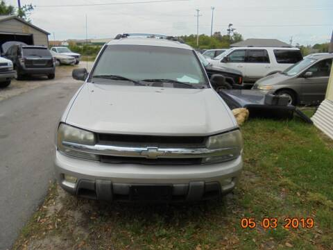 2004 Chevrolet TrailBlazer EXT for sale at Webb's Automotive Inc 11 in Morehead City NC