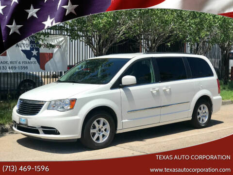 2011 Chrysler Town and Country for sale at Texas Auto Corporation in Houston TX