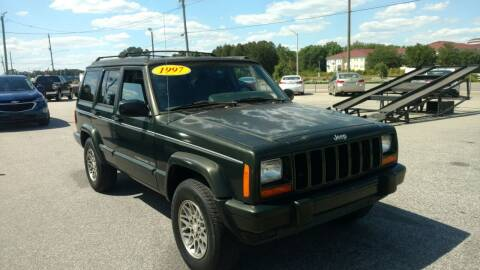 1997 Jeep Cherokee for sale at Kelly & Kelly Supermarket of Cars in Fayetteville NC