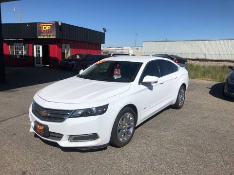 2017 Chevrolet Impala for sale at Top Line Auto Sales in Idaho Falls ID