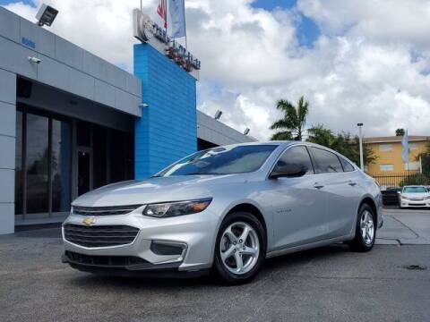 2017 Chevrolet Malibu for sale at Tech Auto Sales in Hialeah FL