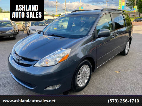 2007 Toyota Sienna for sale at ASHLAND AUTO SALES in Columbia MO
