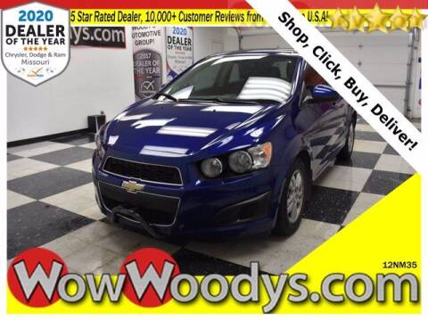 2012 Chevrolet Sonic for sale at WOODY'S AUTOMOTIVE GROUP in Chillicothe MO
