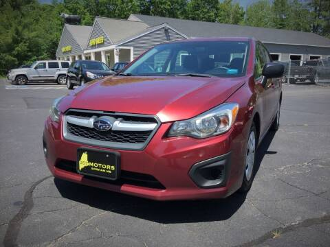 2013 Subaru Impreza for sale at 207 Motors in Gorham ME