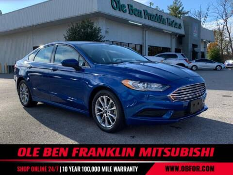 2017 Ford Fusion for sale at Ole Ben Franklin Mitsbishi in Oak Ridge TN