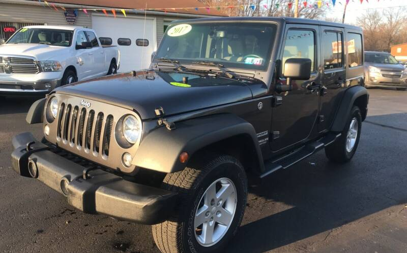 2017 Jeep Wrangler Unlimited for sale at Baker Auto Sales in Northumberland PA