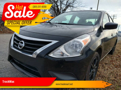 2019 Nissan Versa for sale at TruckMax in N. Laurel MD