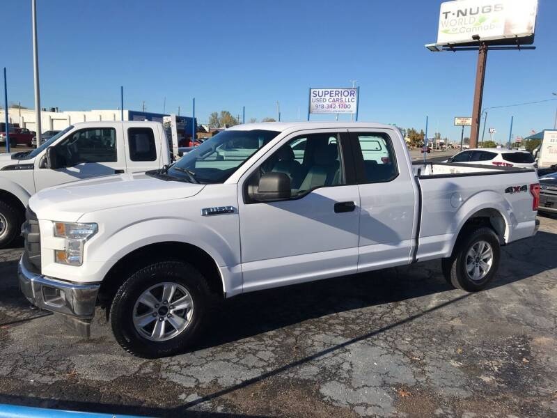 2017 Ford F-150 for sale at Superior Used Cars LLC in Claremore OK