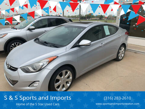 2011 Hyundai Elantra for sale at S & S Sports and Imports in Newton KS