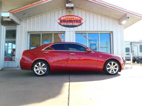 2013 Cadillac ATS for sale at Motorsports Unlimited in McAlester OK