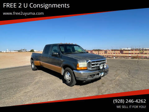 2001 Ford F-350 Super Duty for sale at FREE 2 U Consignments in Yuma AZ