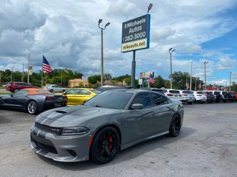 2018 Dodge Charger for sale at Michaels Autos in Orlando FL