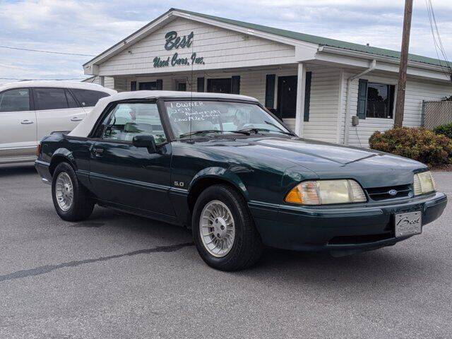 1990 Ford Mustang for sale at Best Used Cars Inc in Mount Olive NC