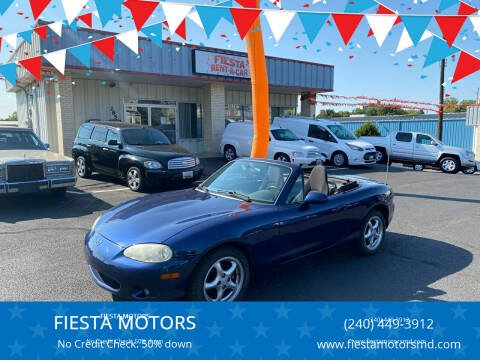 2002 Mazda MX-5 Miata for sale at 4X4 Rides in Hagerstown MD