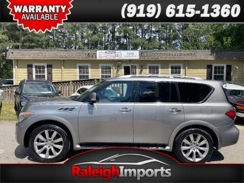 2013 Infiniti QX56 for sale at Raleigh Imports in Raleigh NC