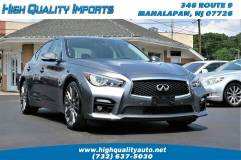 2016 Infiniti Q50 for sale at High Quality Imports in Manalapan NJ