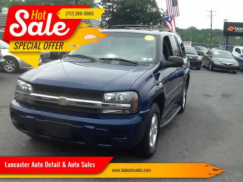 2003 Chevrolet TrailBlazer for sale at Lancaster Auto Detail & Auto Sales in Lancaster PA