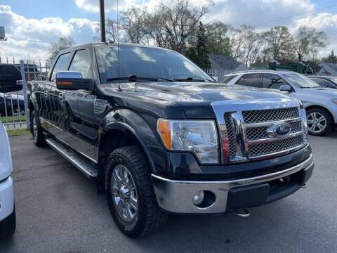 2010 Ford F-150 for sale at SOUTHFIELD QUALITY CARS in Detroit MI
