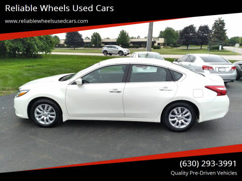 2017 Nissan Altima for sale at Reliable Wheels Used Cars in West Chicago IL