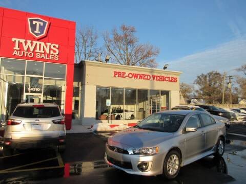 2016 Mitsubishi Lancer for sale at Twins Auto Sales Inc - Detroit in Detroit MI