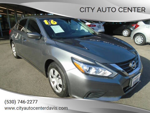 2016 Nissan Altima for sale at City Auto Center in Davis CA