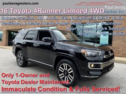 2016 Toyota 4Runner for sale at Paul Sevag Motors Inc in West Chester PA