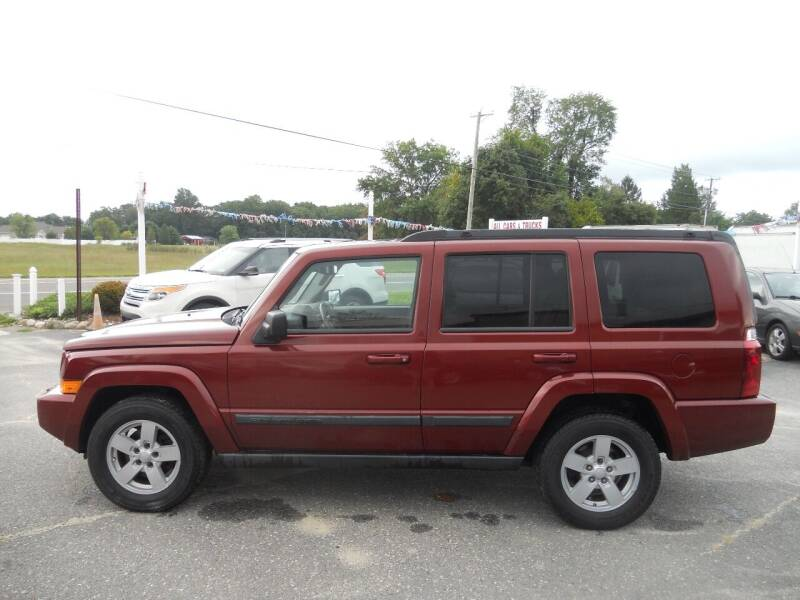 2008 Jeep Commander for sale at All Cars and Trucks in Buena NJ