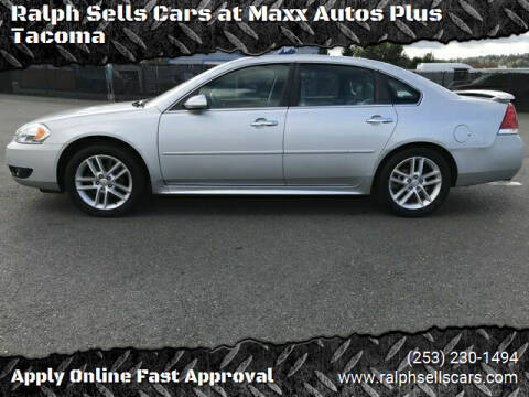 2013 Chevrolet Impala for sale at Ralph Sells Cars at Maxx Autos Plus Tacoma in Tacoma WA