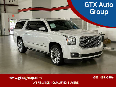 2019 GMC Yukon XL for sale at GTX Auto Group in West Chester OH