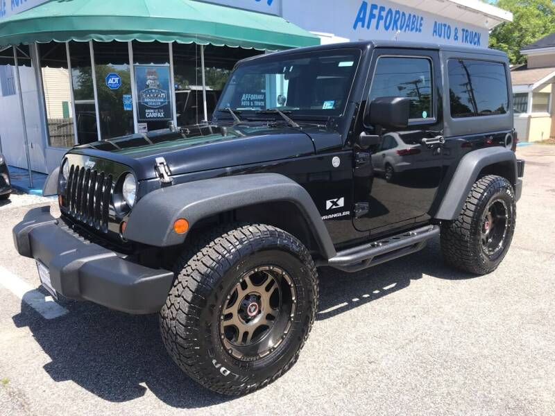 2007 Jeep Wrangler for sale at AFFORDABLE AUTO & TRUCK INC in Virginia Beach VA