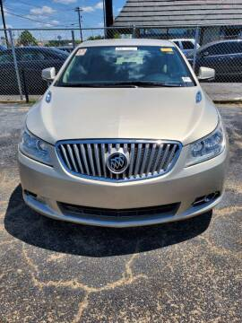 2011 Buick LaCrosse for sale at Dependable Auto Sales in Montgomery AL