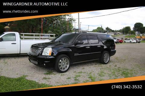 2010 GMC Yukon XL for sale at WINEGARDNER AUTOMOTIVE LLC in New Lexington OH