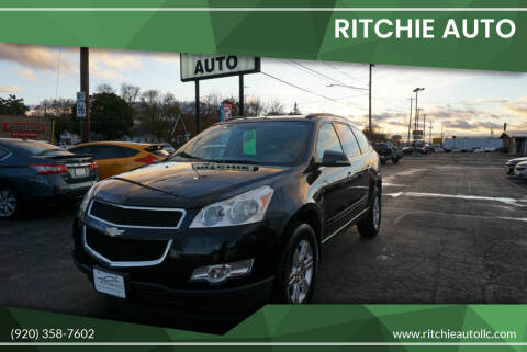 2011 Chevrolet Traverse for sale at Ritchie Auto in Appleton WI