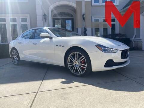 2017 Maserati Ghibli for sale at INDY LUXURY MOTORSPORTS in Fishers IN