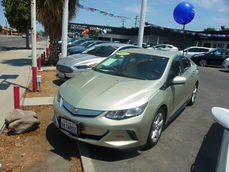 2017 Chevrolet Volt for sale at CENTURY MOTORS in Fresno CA
